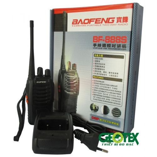 Bộ đàm cầm tay Baofeng BF-888s